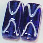 Huge collection of fancy glass beads online manufacturing fashion deep blue glass beads with milky white wavy line decor. Everyone loves wearing jewelry, but jewelry is always expensive. Now think of all the fun you'll have and the money you'll save by making your own. Mix and match unique bead assortments to make beautiful jewelry creations.